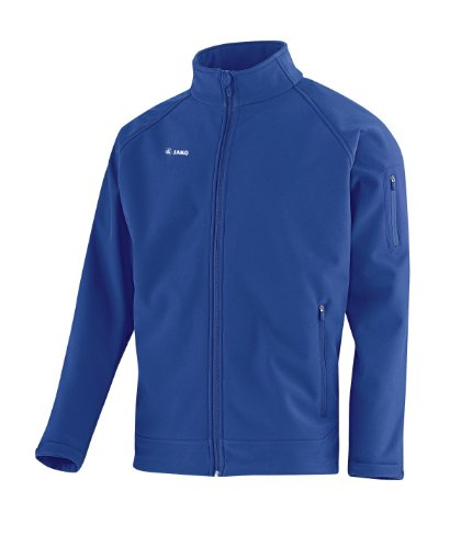 JAKO Kinder Softshelljacke Team Jacke, Royal, 128