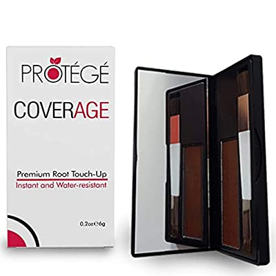 Premium Root Touch Up - CoverAge - Instant Temporary Root Concealer to Cover Up Roots and Grays Between Salon Trips - Water Resistant - Color Roots like Magic Without Spray