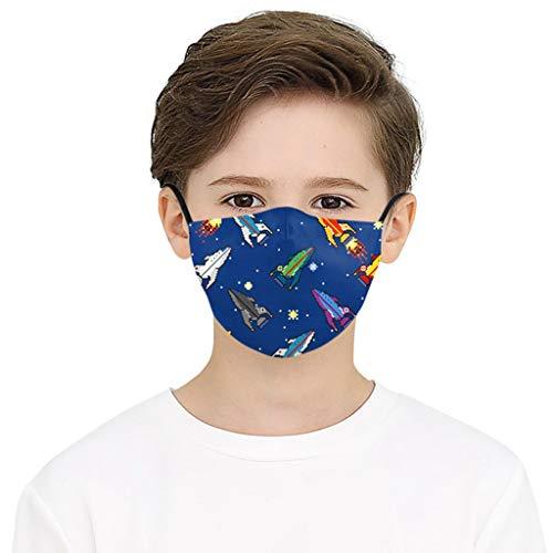 Lazzgirl Reutilizable Carbón Activado Filtro para niños de tela Antipolvo Antivaho Actividades al aire libre KN- ZA- 95 Pack 1 unidades
