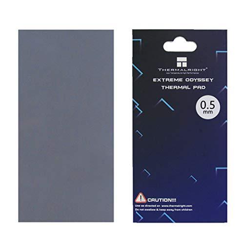 One enjoy Thermalright Pad Termico 12,8 W/MK, 85x45x0.5mm Thermal Pad, Pad Termici in Silicone per dissipatore di Calore/GPU/CPU/LED