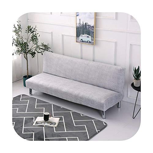 Funda de sofá sin reposabrazos, incluye funda plegable para sofá-cama, funda de sofá cama para salón, color 8-XL 190-220 cm