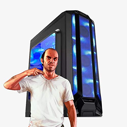 Pc Gamer Intel Core i7, 16GB Ram, GTX 1650 4GB, HD SSD 480GB, Fonte 500w, Gabinete com LED