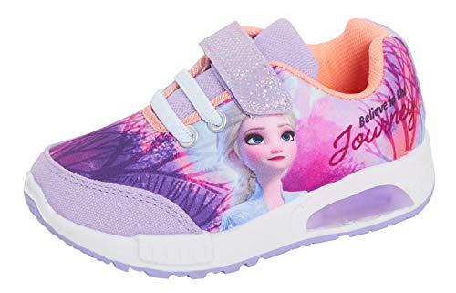 Disney Frozen - Scarpe da ginnastica sportive da ragazza, Viola (Viola), 30 EU