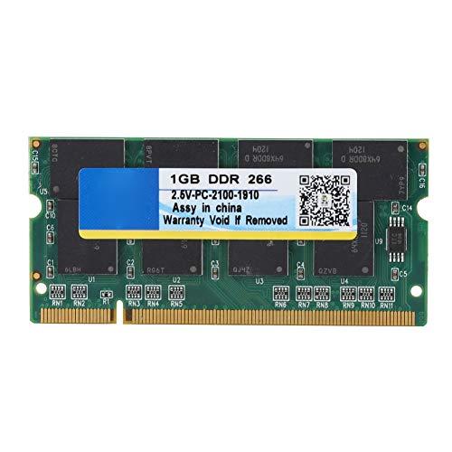 1G laptopgeheugen, 1 GB 266 MHz 200-pins laptop RAM-geheugen voor DDR PC-2100-notebooks Volledig compatibel met Intel- en AMD-moederborden