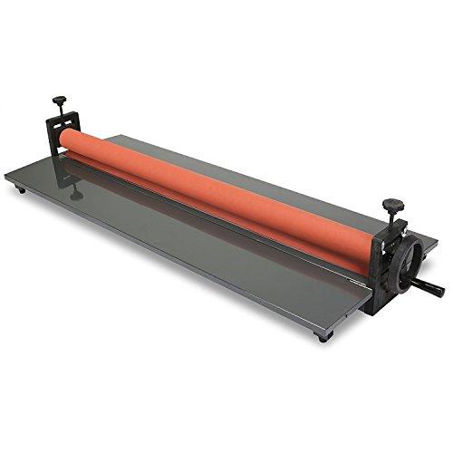 Happybuy frío rollo laminadora 25,5cm fría para plastificar máquina manual película de fotos de Vinilo fría laminador, color 39 inch