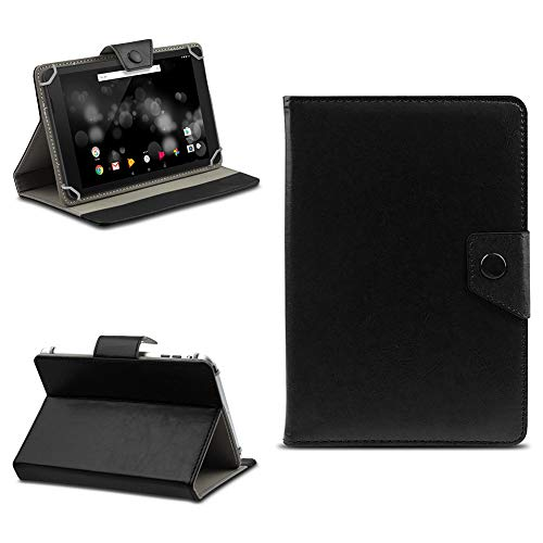 na-commerce Tablet Tasche für TrekStor Primetab P10 Schutzhülle Hülle Hülle Schutz Cover Etui, Farben:Schwarz