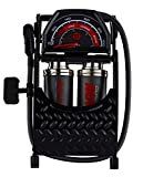 Schwinn Gust Max Foot Pump, 100 Max PSI, for Schrader and Presta Valves -  Pacific Cycle