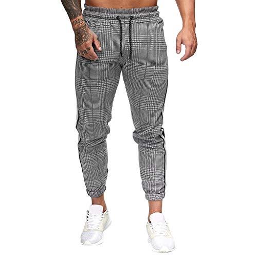 NUSGEAR 2021 Nuevo Pantalones Hombre Pantalones Casual Moda Deportivos Running Pants Jogging Pantalon Fitness Gym Slim Fit Impresión Largos Pantalones Ropa de Hombre Pantalones de Trekking vpa
