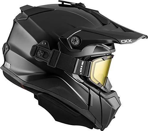 CKX Titan Backcountry Helmet, Winter Solid - Included 210° Goggles Part# 507235#