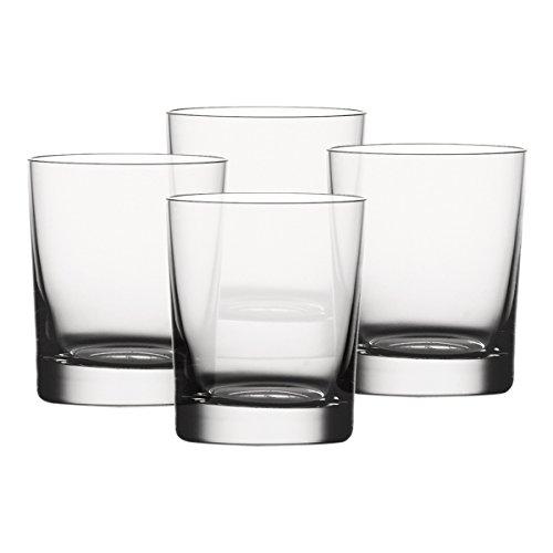 Spiegelau & Nachtmann, 4-teiliges Tumbler-Set , Kristallglas, 280 ml, Classic Bar, 900175