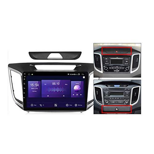 Reproductor MP5 de Coche Para Hyundai lX25 2015-2019 Android 10 Radio Coche GPS navi Controles del volante Apoyo BT5.0 built-in carplay DSP FM RDS,7862,4+64G