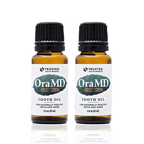 OraMD Original Tooth Oil (2)-Natural Solution for Healthy Teeth & Healthy Gums