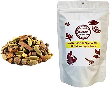 Beantown Tea Spices Indian Chai Spice Mix Make Your Own Chai Classic Blend of Chai Spices 4 product image