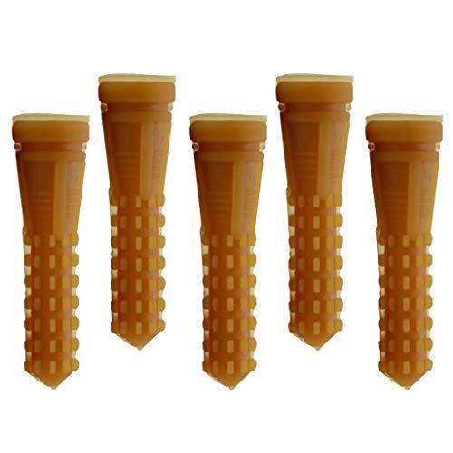 Shiwaki 5X Geflügel Rupfen Huhn Ente Gans Rupffinger passend für 3/4''-Löchern Rupfmaschine, Leichter Einbau - D