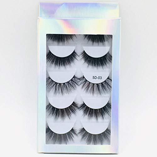 KADIS Natural Long Black False Eyelashes Fake Eye Lashes Makeup Extension Tools Professional Individual Eye Lashes,11