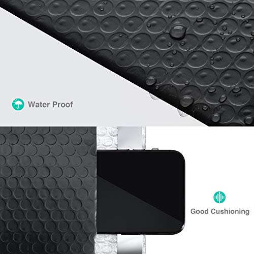 GSSUSA Black Poly Bubble Mailers