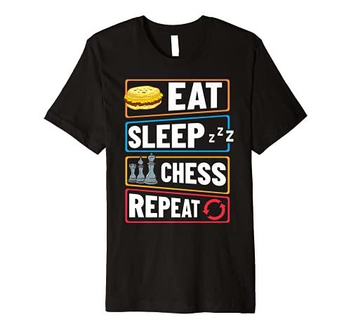 Chess Board Player Opening Game Beginner Premium T-Shirt