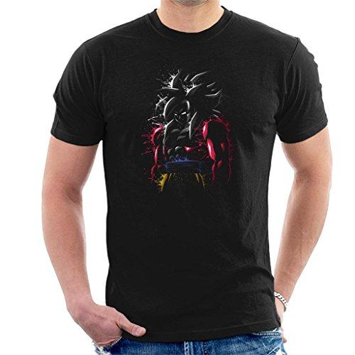 Cloud City 7 Dragon Ball Z Goku SSJ 4 Splatter Men's T-Shirt