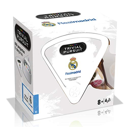 Winning Moves Trivial Bite Real Madrid CF (10308), Multicolor