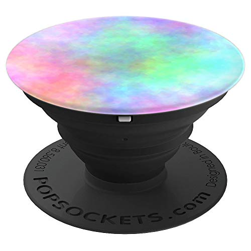 Pastel Watercolor Nebula Colorful Color Explosion Multicolor PopSockets Grip and Stand for Phones and Tablets