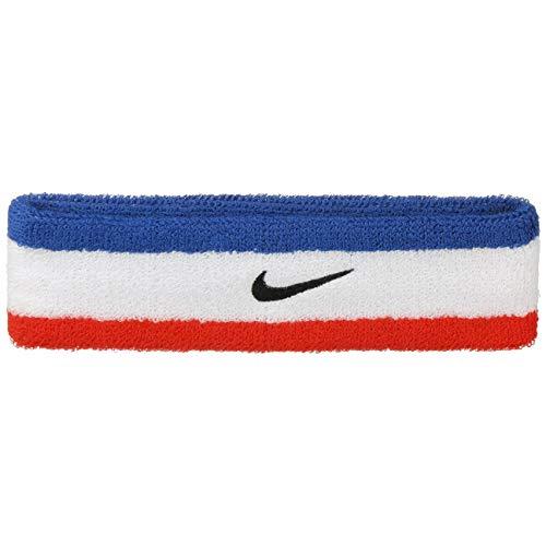 Nike UnisexErwachsene Swoosh Headband/Stirnband, Rot (Habanero red/black), Einheitsgröße