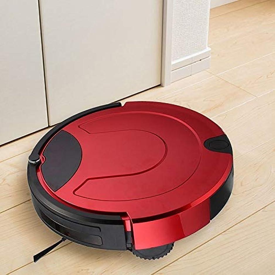 上へ囚人してはいけないCattleBie リモコンで清掃ロボットを席巻スマート掃除機のタッチディスプレイ世帯 (Color : 赤)