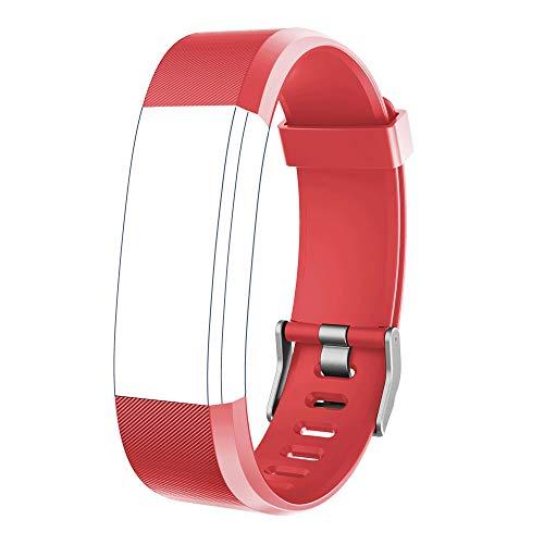 "YAMAY Ersatz Armband für Fitness Tracker ""ID115Plus HR"" (Rot)"
