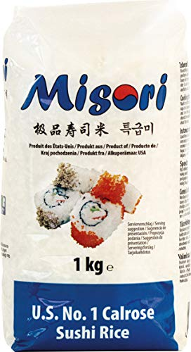Misori Arroz Para Sushi, Calrose 1000 g