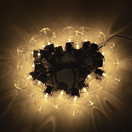 Decoratieve lichtsnoer op zonne-energie, 2,5 m, 5 m, met 10/20 leds, voor tuin en buiten, decoratieve verlichting