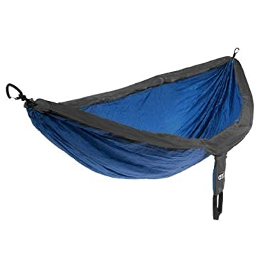 Eagles Nest Outfitters - DoubleNest Hammock, Charcoal/Royal