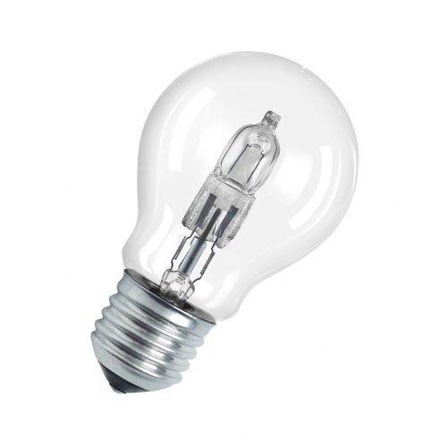 Preisvergleich Produktbild Osram Classic A Halogen-Lampe,  E27-Sockel,  dimmbar,  20 Watt - Ersatz für 25 Watt,  Warmweiß - 2700K