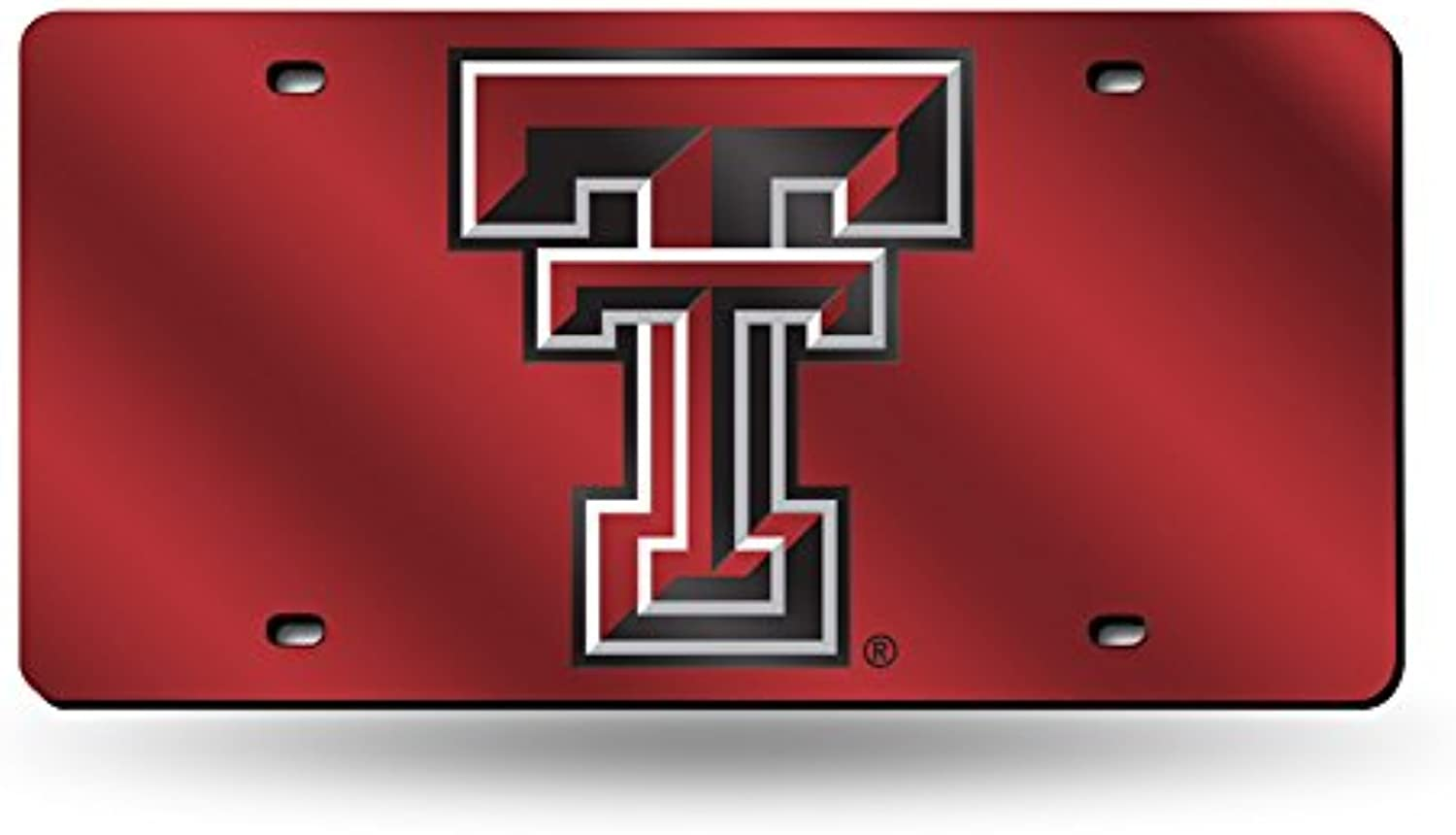 331510f7 Texas Tech Red Raiders Laser Cut Mirrored License Plate Tag ...
