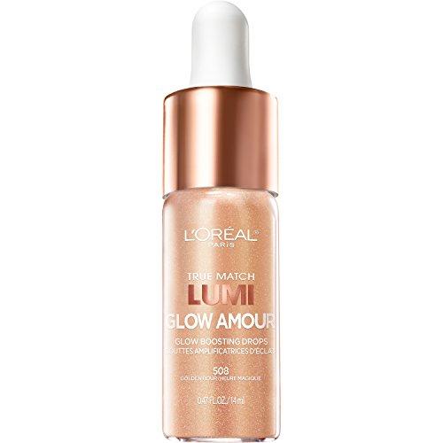L'OREAL - True Match Lumi, Glow Amour Boosting Drops, Golden Hour - 0.47 fl. oz. (14 ml)