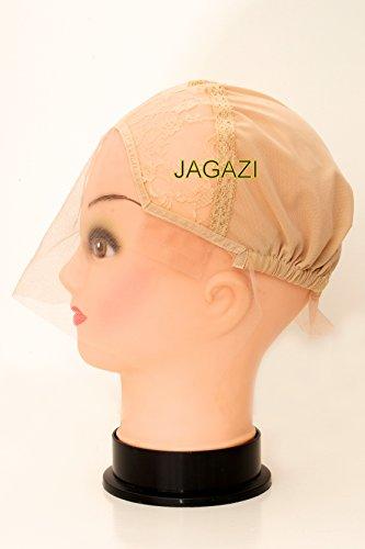 Bonne affaire ! Base de perruque à dentelle frontale beige blond. Bonnet de perruque sans colle. Bonnet de tissage à dentelle frontale. Bonnet de perruque extensible.