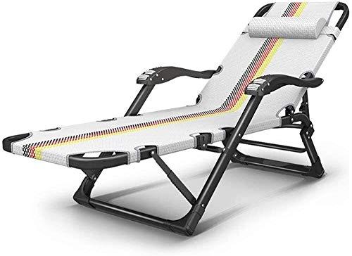 Liegestühle Im Freien Klappstühle Lounge Chair Für Beach Patio Garden Camping Outdoor Interieur Mit Abnehmbarer Kopfstütze 220 Kg Gewicht Kapazität