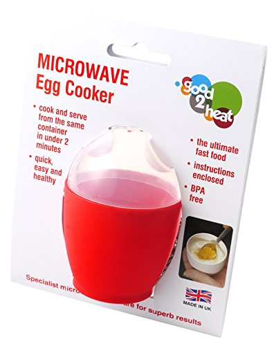 good2heat Microwave Egg Cooker - Red