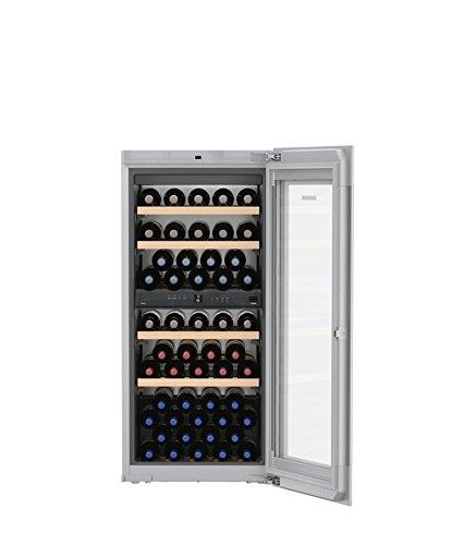 Liebherr ewtgw 2383eingebaut Kombi-Wein-51bottle (S) A–Weinkühler (eingebaut, grau, grau, 6Glasböden, 1Door (S), weiß)