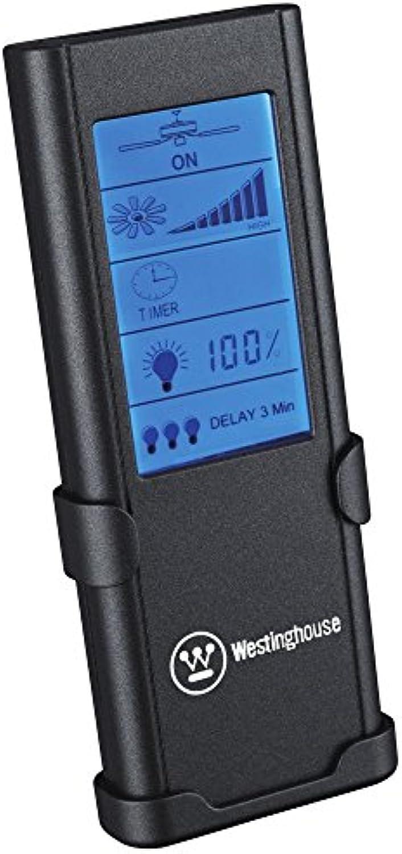 Westinghouse Lighting Radiofrequenz-Fernbedienung, Timer, Touchscreen, Geschwindigkeit und Licht regelbar 77841