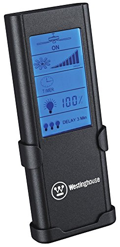 Westinghouse Lighting 77841 Radiofrequentie afstandsbediening, timer, touchscreen, snelheid en licht regelbaar