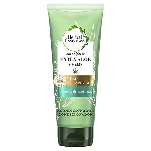 Acondicionador Herbal Essences Bio: Renew sin Sulfatos con Aloe Intenso Y Hemp, en Colaboración con el Royal Botanic Gardens de KEW