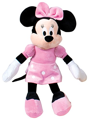 Minnie Mouse Peluche, Color Rosa (Famosa 760011896), Multicolor, 18 x 7 x 46