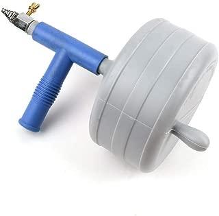 UPIT Clogged Drain Spring Cleaner Snake Auger (50FT (15meter))