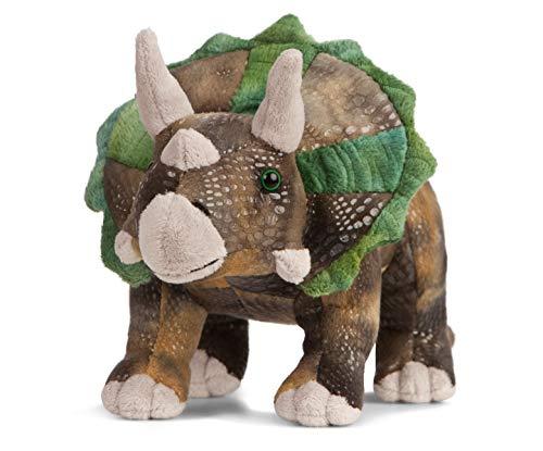 Living Nature Stofftier - Prähsitorischer Dinosaurier, Triceratops (25cm)
