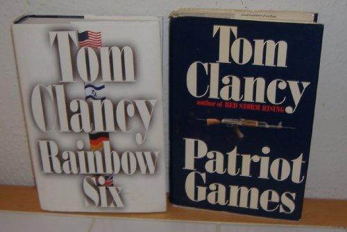 Patriot Games & Rainbow Six by Tom Clancy (2 Books)