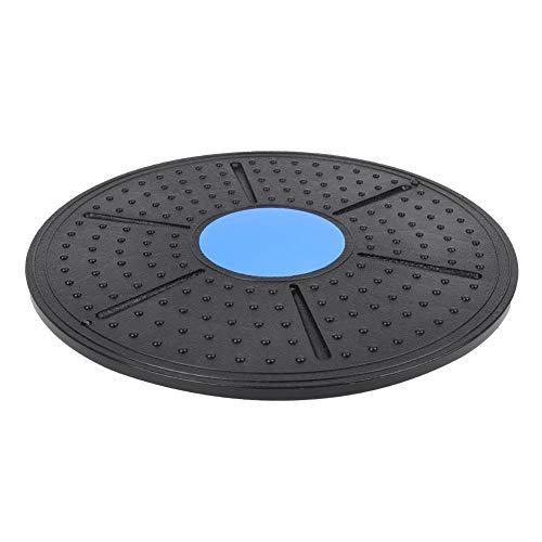 fegayu Tabla de Equilibrio Bodytwister, Equipo de Ejercicio, Plataforma giratoria de Equilibrio de Disco, ayudas para el Ejercicio(Blue Drawstring)