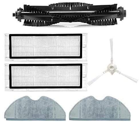 DONGYAO Sweeper Main Brush Side Filter Mop Cloth Kit de accesorios para 360 S5 S7 Aspiradora para Aspiradora