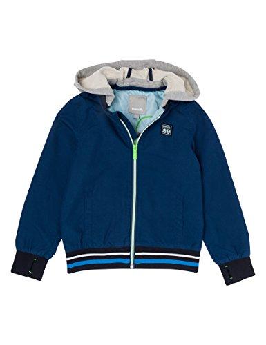 Bench Jungen Nylon Baseball Jacket with REMOVABL Jacke, Blau (Dark Navy Blue NY013), 152 (Herstellergröße: 11-12)