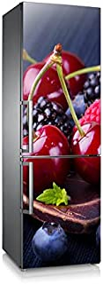 Vinilo para nevera | Stickers Fridge | Pegatina Frigo | Cerezas&Moras (185x70)