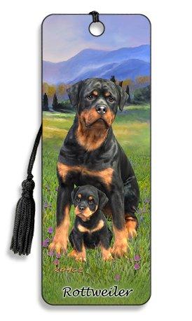 Artgame - Rottweiler - 3D Bookmark