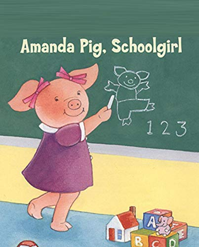 Amanda pig schoolgirl: Children's Fun Picture Book (English Edition)